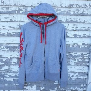 Better Bodies zip up hoodie size large